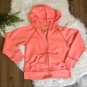 *3 FOR $15* Gymboree Neon Hoodie 5/6 Small